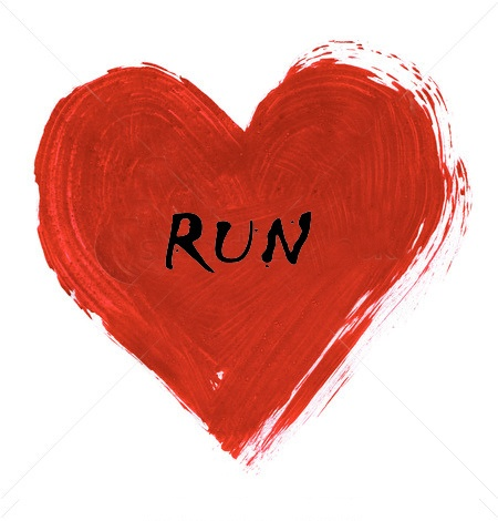 Run with the one you love this Valentine's Day