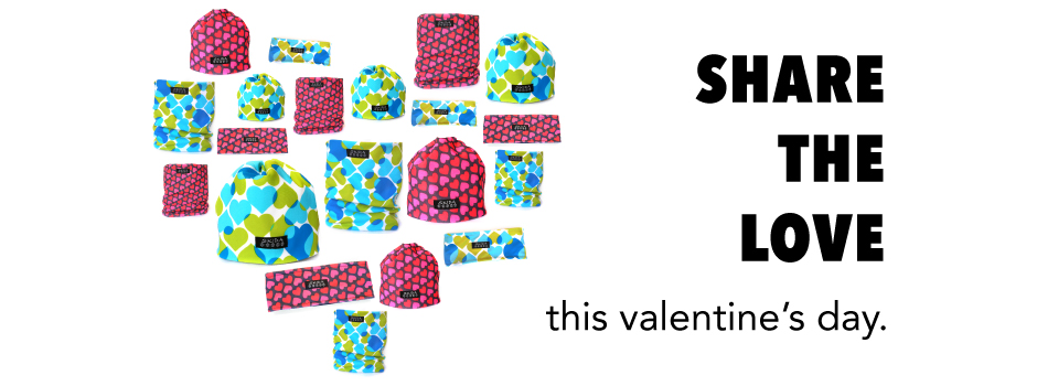 Valentine's Day SKIDA Hats