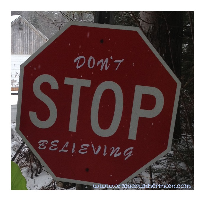 inspiration- don't stop believing