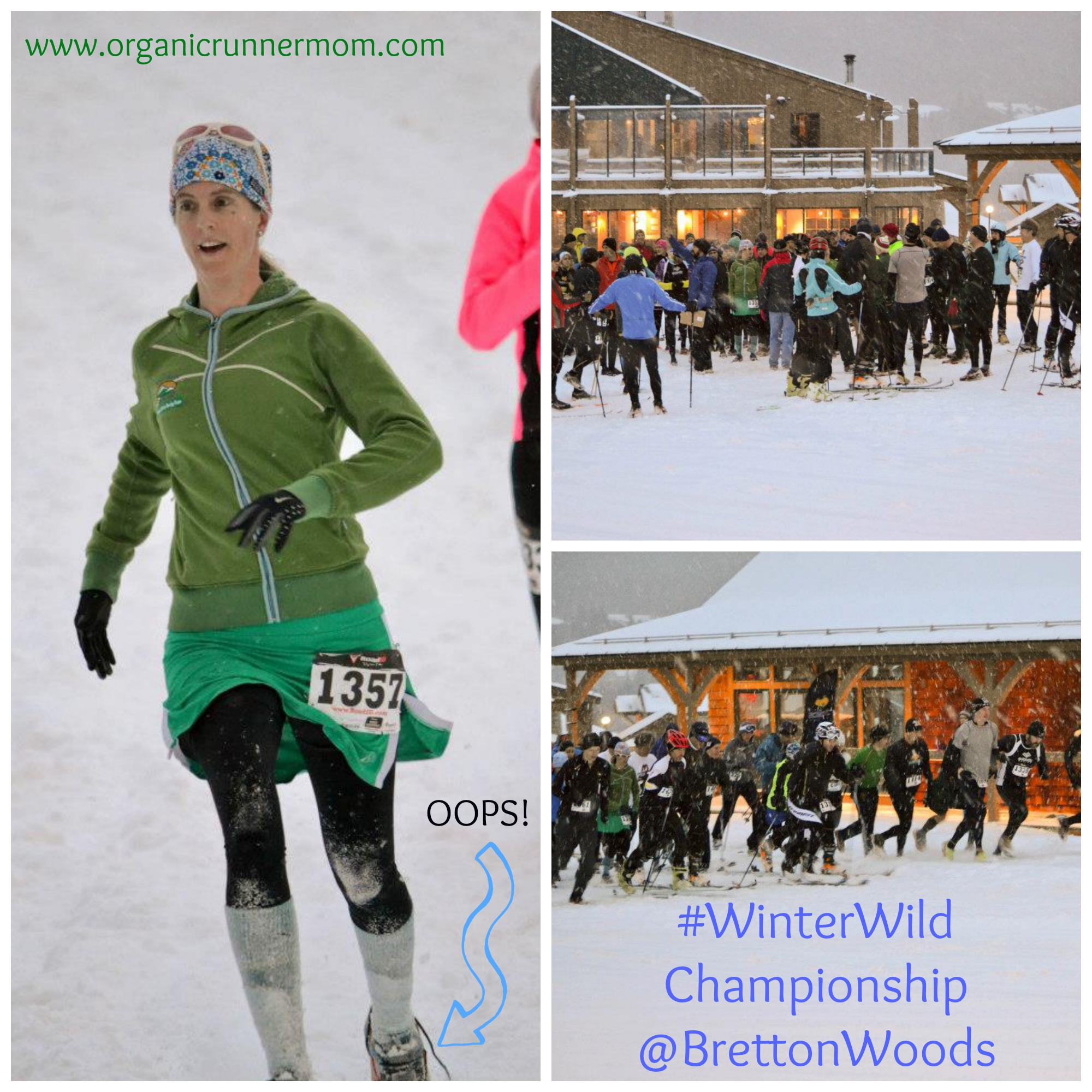 Winter Wild Championship at Bretton Woods Organic Runner Mom Team Amp