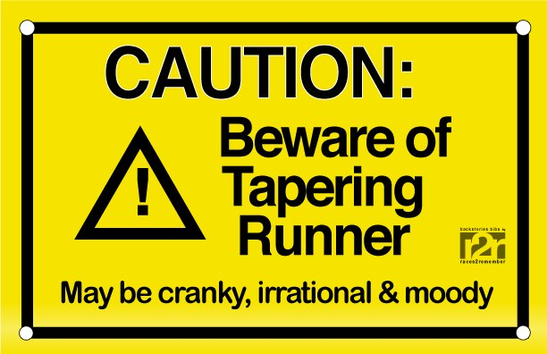 Beware of Tapering Runner-Taper for the Boston Marathon